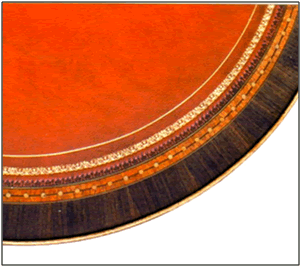 Red Leather Inlay