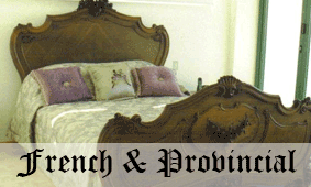 Click here to go to French and Provincial furniture