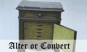 Click here to go to Alter or Convert